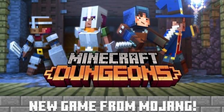 Minecraft Dungeons Angekündigt Diablo Als Vorbild Für Exklusives - Minecraft headset spielen