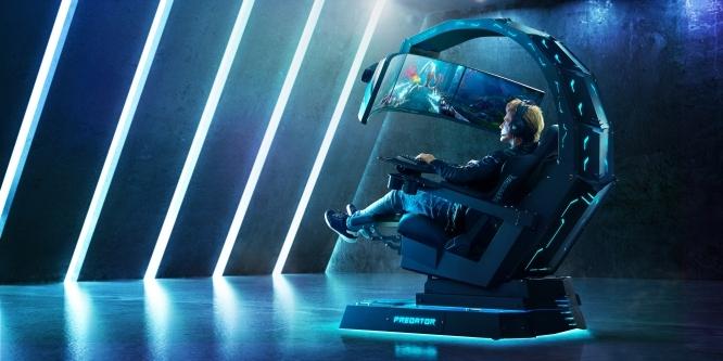 Probesitzen Gaming Chairs ThronosPcgh Des Luxus Beim Predator Acer War eBdCxo