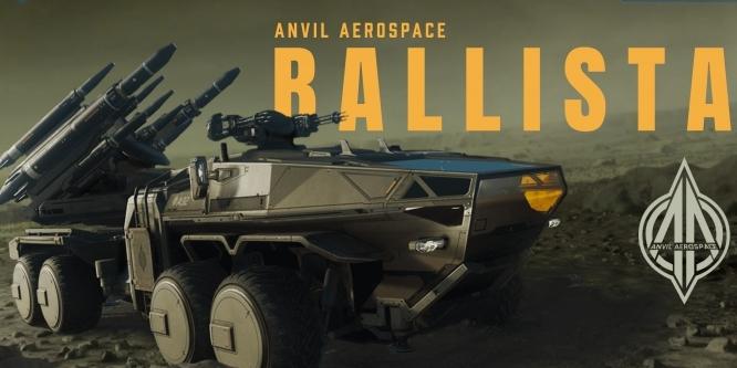 Star Citizen: Alpha 3.6 veröffentlicht, Anvil Ballista als Überraschung