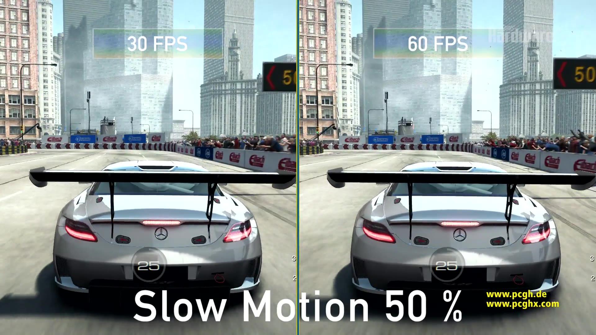 Grid Autosport: 30 gegen 60 Fps - so viele Fps brauchen Sie wirklich!