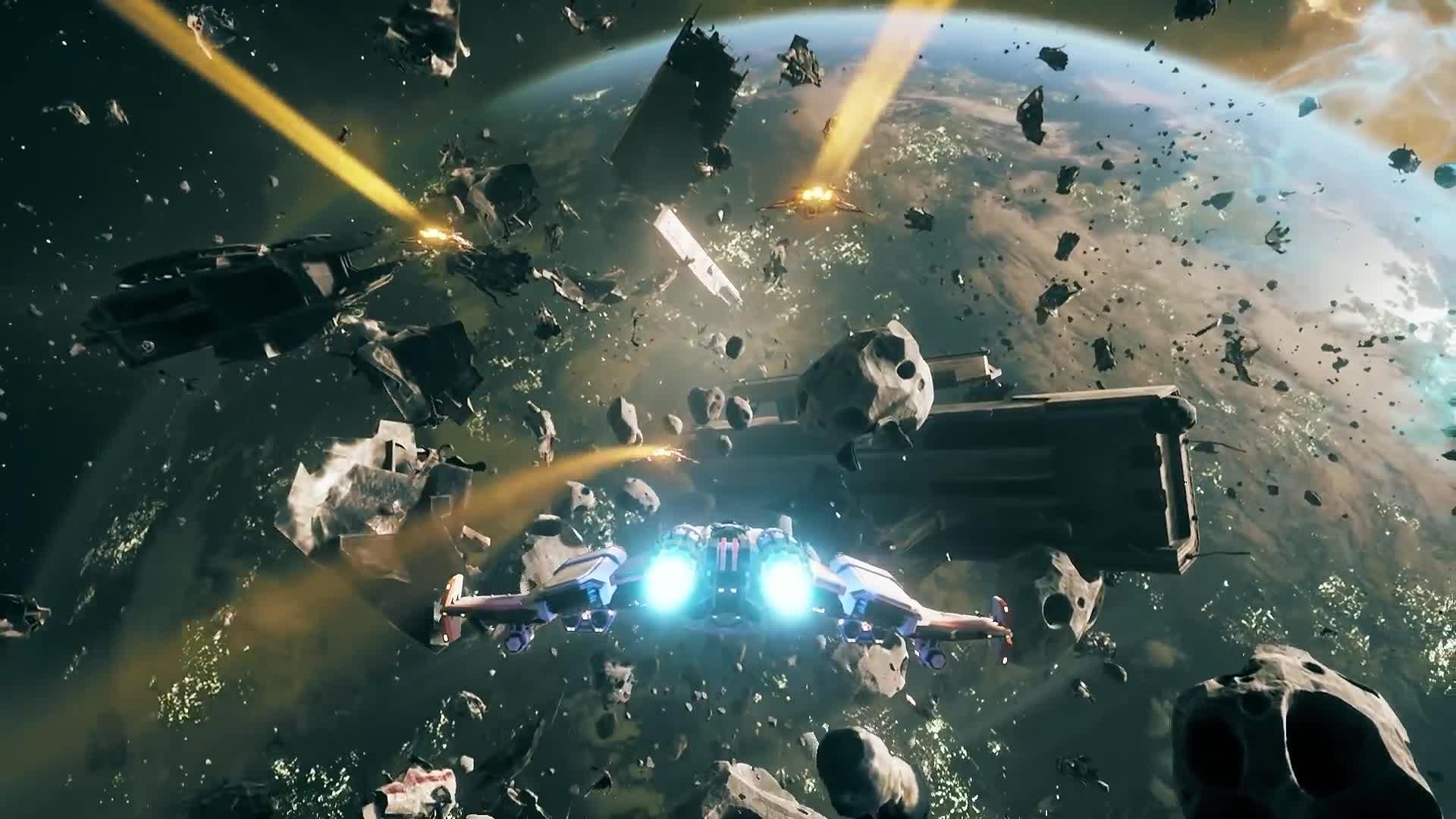Space Shooter Everspace Trailer Feiert Den Early Access Release
