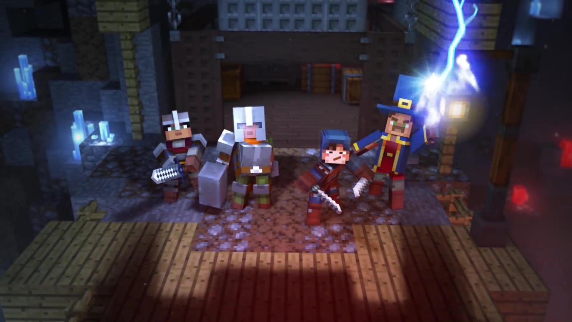 Minecraft Dungeons Der AnkündigungsTrailer - Minecraft spielen video