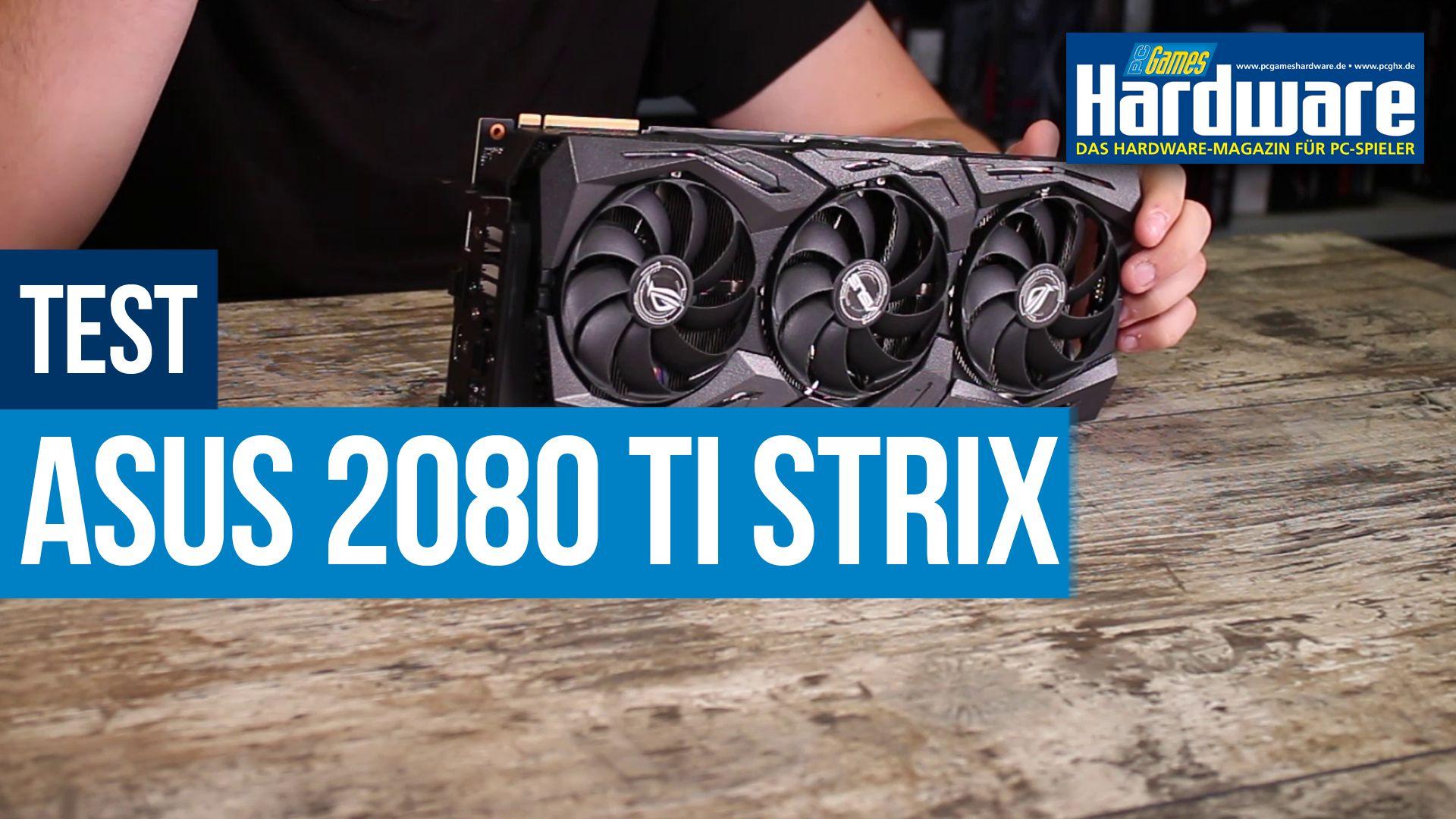 Asus Geforce RTX 2080 Ti Strix im Test: Kühlleistung, Lautheit und  Overclocking