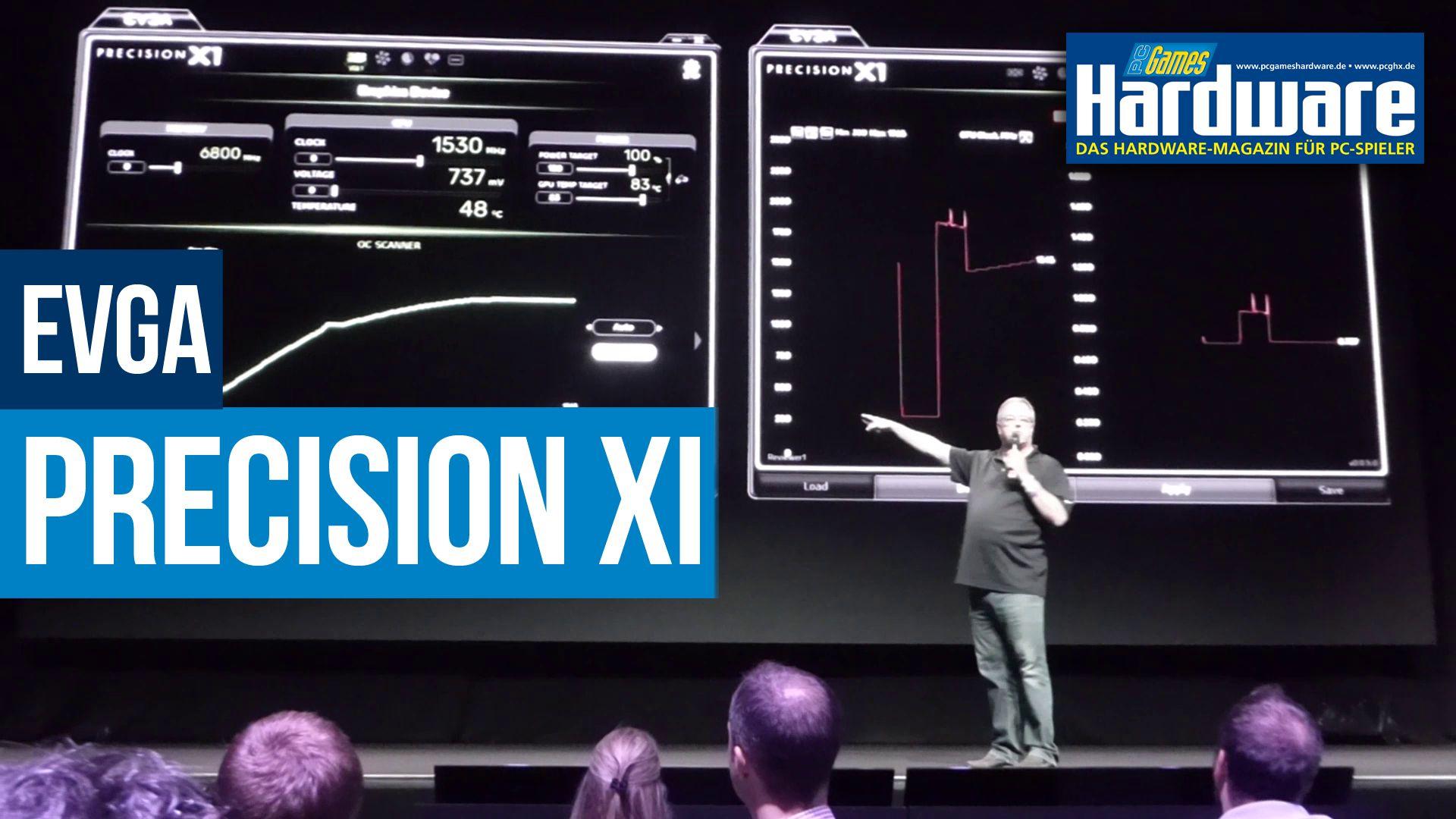 EVGA Precision X1: Takt- und Spannungskurve für Geforce-RTX-Grafikkarten