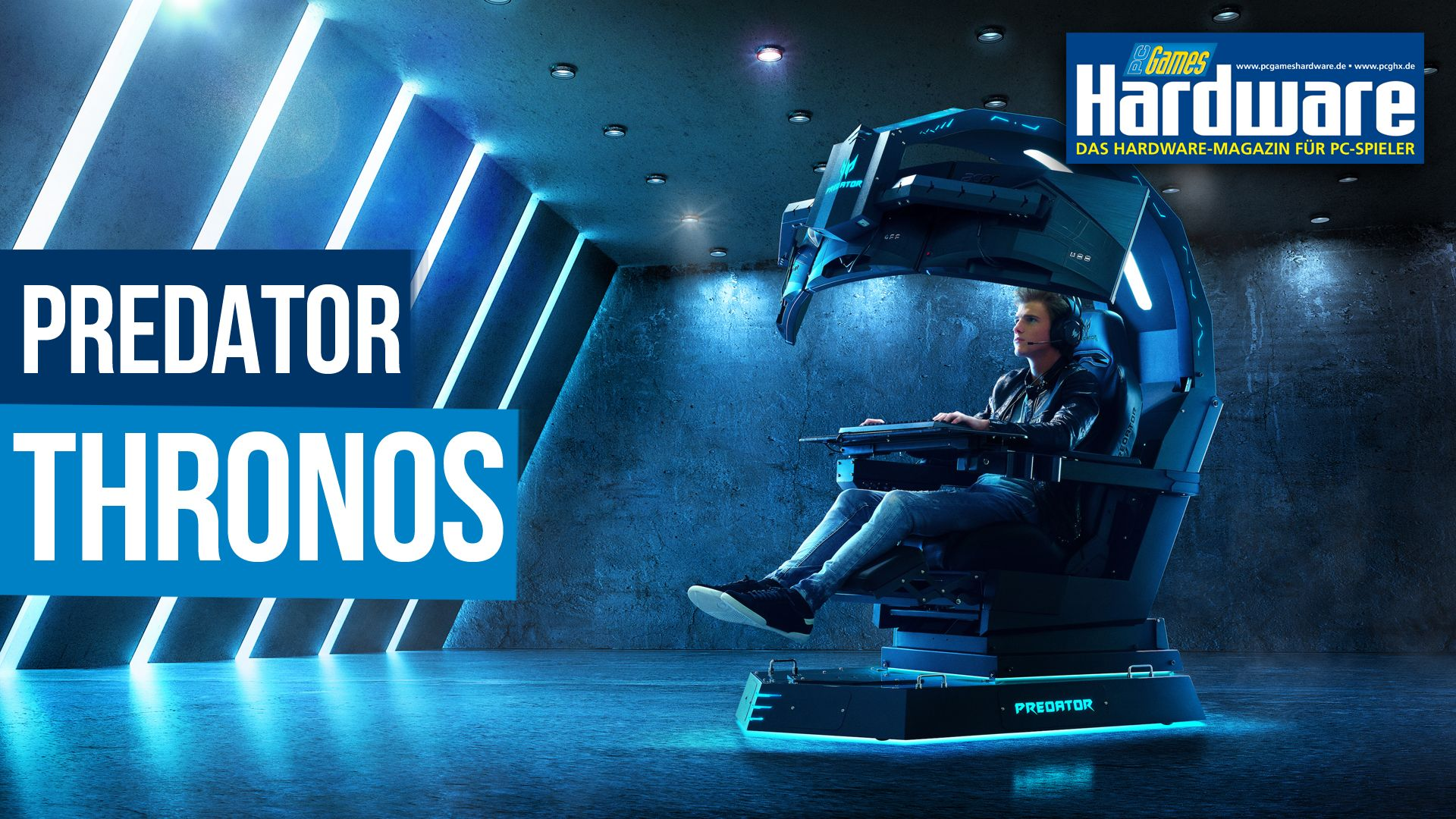 Ultimative Luxus Gaming Acer ThronosDas Predator Setup Chair wPkiTOXulZ