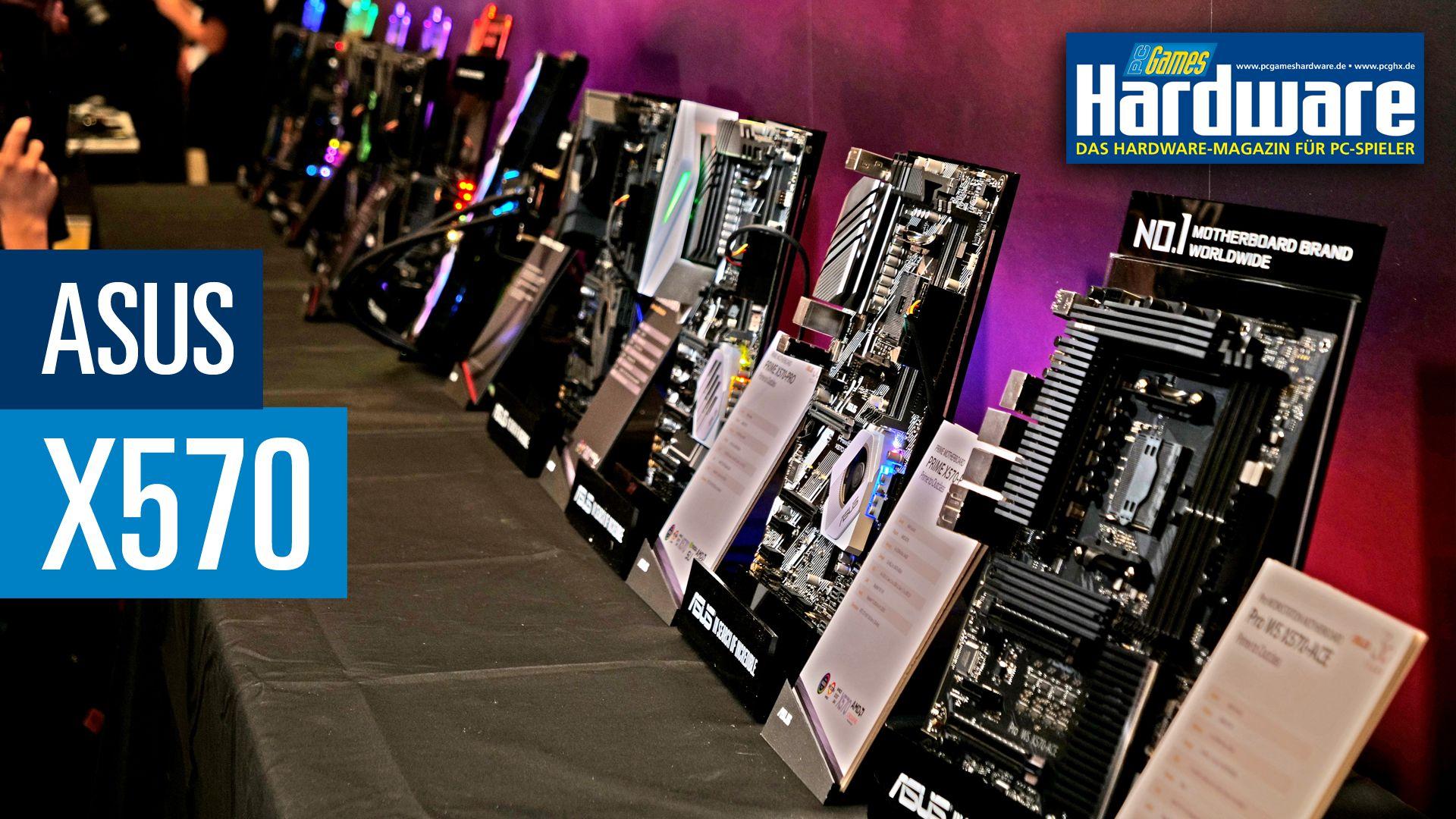 AMD X570: Alle Asus-Mainboards von der Computex vorgestellt